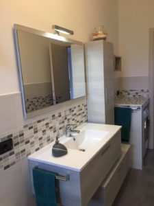 Mobile lavabo con specchio bagno