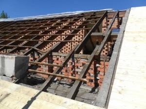 Rimozione vecchio tetto