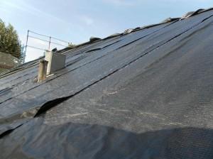 Copertura tetto per restauro