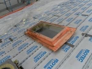 Dettaglio finestra mansarda