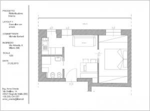 Pianta ristrutturazione appartamento