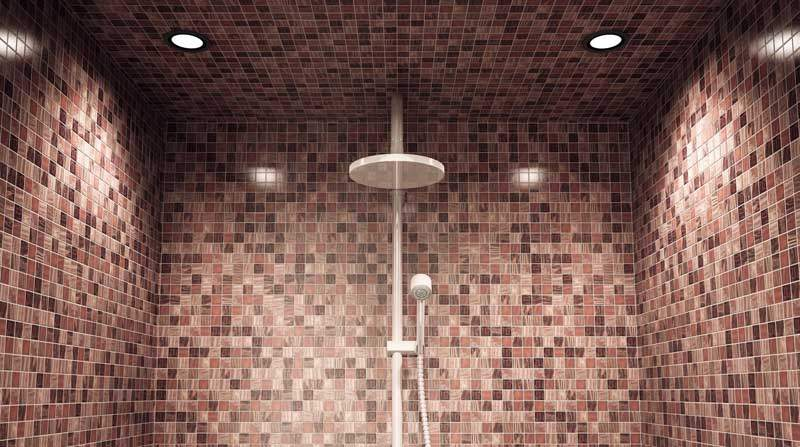 Mosaico bisazza a milano posa per bagno interni ed esterni - Posa piastrelle mosaico ...