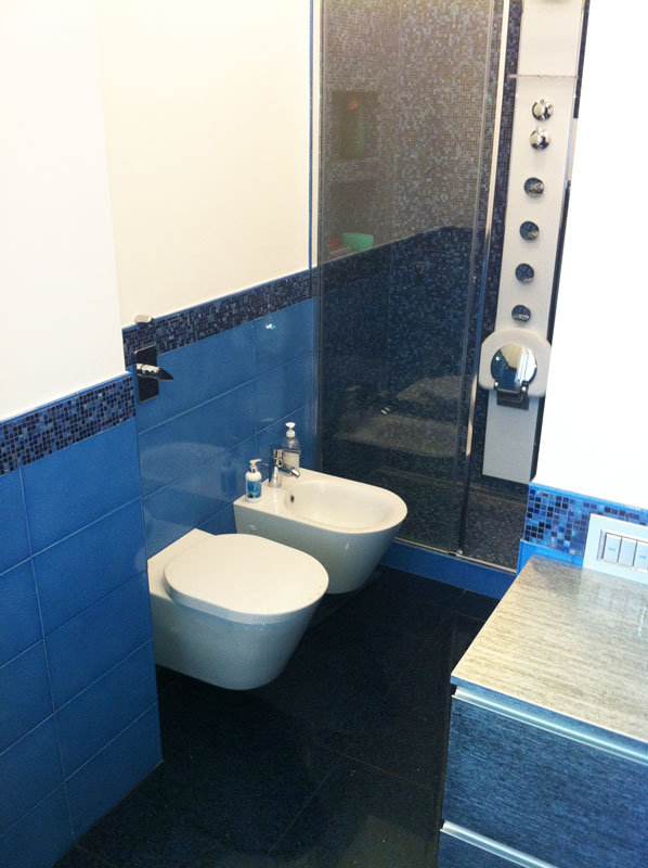 Mosaico bisazza a milano posa per bagno interni ed esterni - Posa mosaico bagno ...