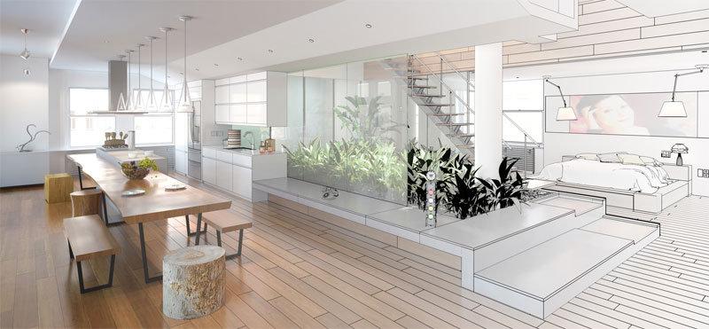 Progetto ristrutturazione appartamento milano