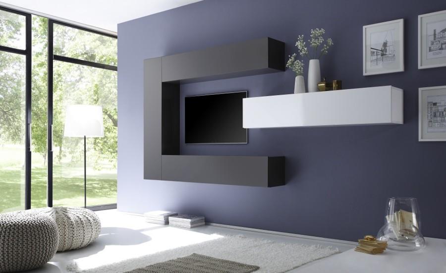 Soggiorno moderno minimalista