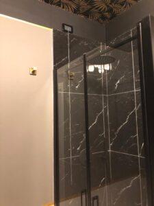 Doccia marmo nero