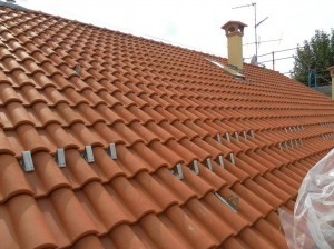 Rifacimento di un tetto a tegola