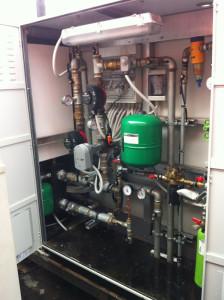 Quadro idraulico aperto