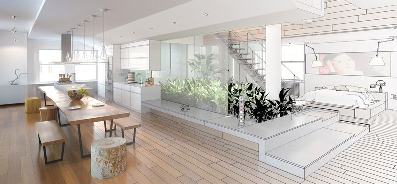 Ristrutturazione appartamento milano migliari snc for Appartamenti prestigiosi milano