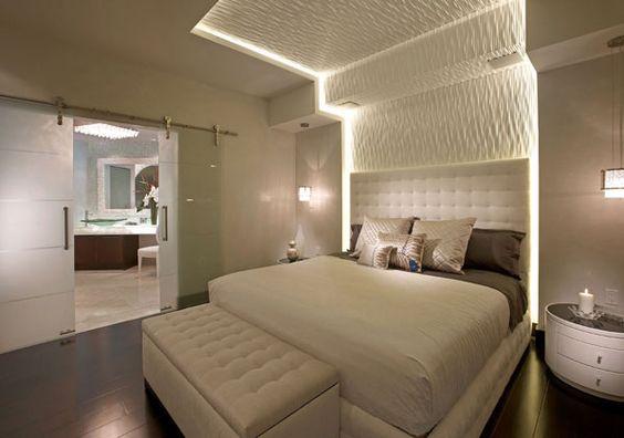 Cornice camera da letto in cartongesso
